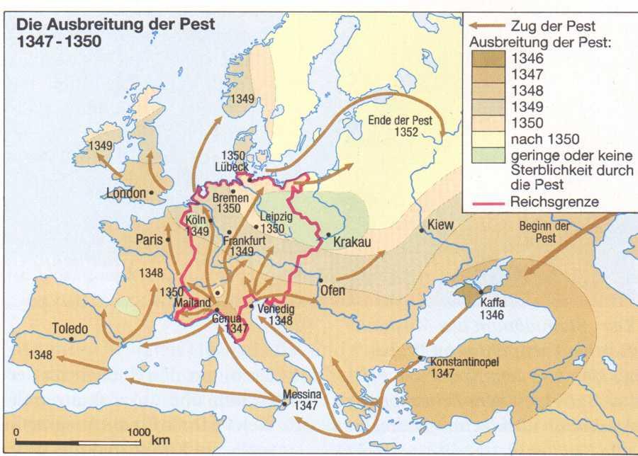 Die Pest In Europa